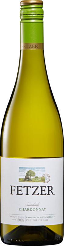 Fetzer Chardonnay Sundial, 2019, Californie, Etats-Unis, 75 cl
