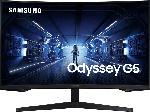 MediaMarkt Gaming Monitor Odyssey G5 LC32G55TQWU Curved, 31.5 Zoll WQHD, 144Hz, 1ms, VA, Schwarz