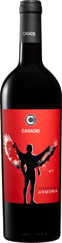 Casadei Armonia Rosso bio Toscana IGT, 2019, Toskana, Italien, 75 cl