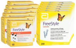 Abbott FreeStyle Lite strisce reattive 10 x 100 + 5 x 200 FreeStyle lancette -