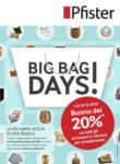 Pfister Big Bag Days - al 16.12.2020