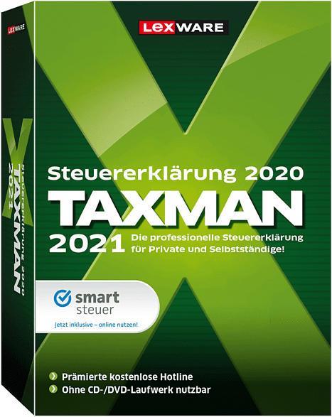 TAXMAN 2021 - Steuer-Software für Steuererklärung 2020
