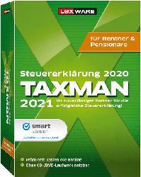 TAXMAN für Rentner und Pensionäre 2021