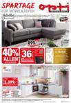 Opti Wohnwelt Spartage für Möbelkäufer - bis 19.12.2020