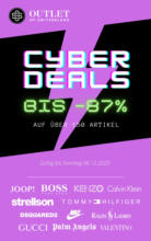 Cyber Week Deals: Bis -87%