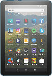 MediaMarkt AMAZON Fire HD 8-Tablet, 8-Zoll-HD-Display, 32 GB, Dunkelblau mit Spezialangeboten, Tablet , 32 GB, 8 Zoll, Dunkelblau