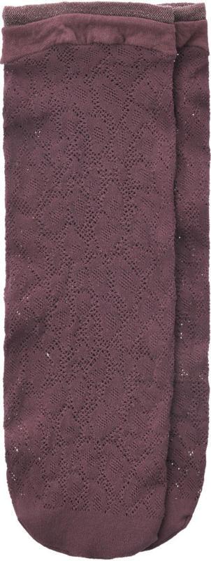1 Paar Damen Socken mit Lochstickerei (Nur online)