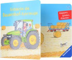 Vorlesebuch Entdecke die Bauernhof-Fahrzeuge (Nur online)