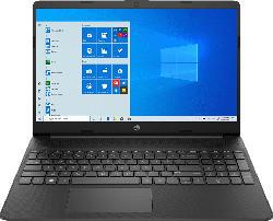 HP 15s-eq0355ng, Notebook mit 15.6 Zoll Display, Ryzen 5 Prozessor, 8 GB RAM, 512 GB SSD, AMD Radeon Vega 8, Schwarz