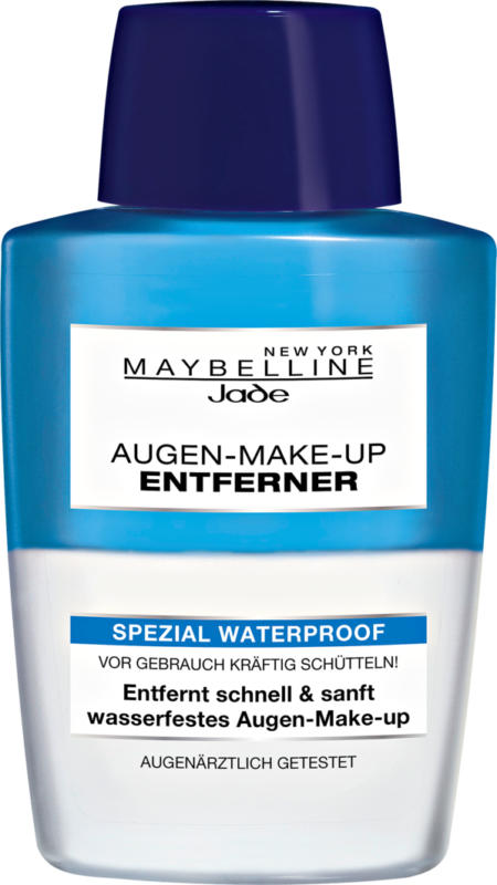 Maybelline NY Augen-Make-up-Entferner Special Waterproof, 125 ml