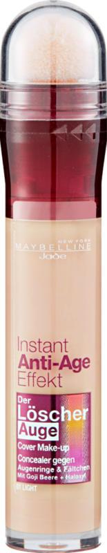 Maybelline NY Correzione Instant Anti-Age Effect, Yeux 01 Light, 1 pezzo