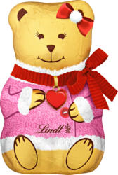 Ours d'or Teddy Girl Lindt, 3 x 100 g
