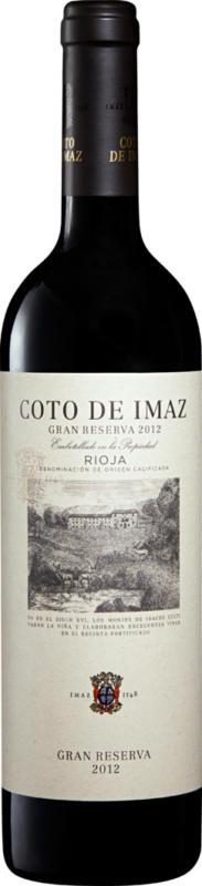 Coto de Imaz Gran Reserva DOCa Rioja, 2013, Rioja, Spanien, 75 cl