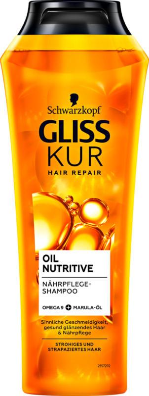 Schwarzkopf Gliss Kur Shampoo Oil Nutritive, 250 ml
