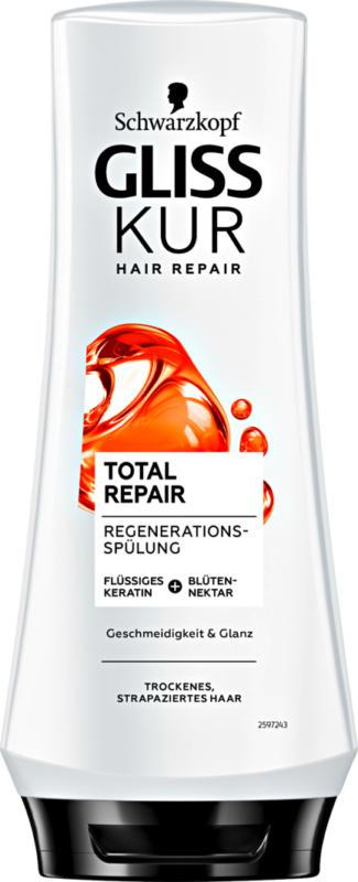 Après-shampooing Total Repair Gliss Kur Schwarzkopf, 200 ml