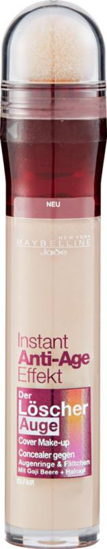 Maybelline NY Correzione Instant Anti-Age Effect, Yeux 03 Fair, 1 pezzo
