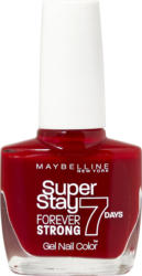 Vernis à ongles Maybelline NY, Superstay Forever Strong, 7 Days, 501 Cherry, 1 pièce