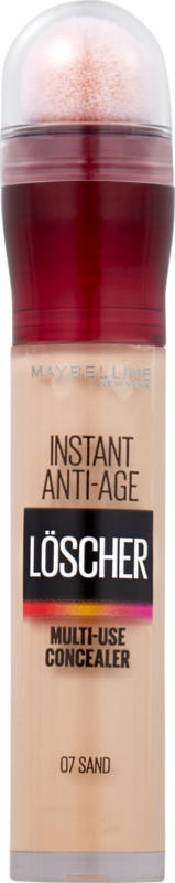 Maybelline NY Instant Anti-Age Concealer , 07 Sand, 1 Stück