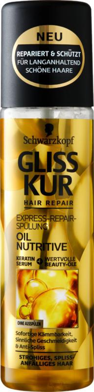 Schwarzkopf Gliss Kur, Express-Repair-Spülung, 200 ml