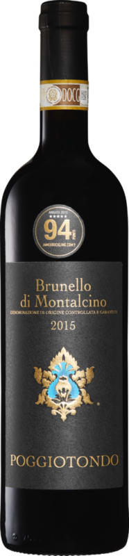 Poggiotondo Brunello di Montalcino DOCG, 2015, Toscane, Italie, 75 cl