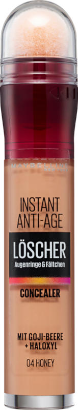 Maybelline NY Instant Anti-Age Concealer, 04 Honey, 1 Stück
