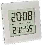 MediaMarkt Digitales Thermo-Hygrometer, silber