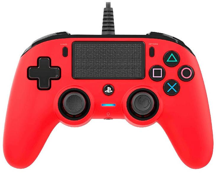 NACON PS4 Controller Rot Color Edition