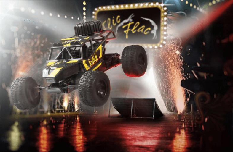 REVELL Flic Flac Stunt Racer Set R/C Modellfahrzeug, Mehrfarbig