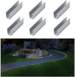 """Outdoor Plug & Shine"", Neon Stripe Clip, 5cm, 6 Stück"