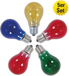 Leuchtmittel-Set, für Lichterketten, mehrfarbig