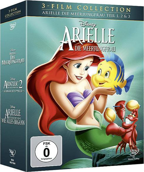 Arielle, die Meerjungfrau - 3 Film Colllection