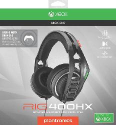 NACON RIG 400HX (Offizielle Xbox One Lizenz) Gaming Headset, Schwarz