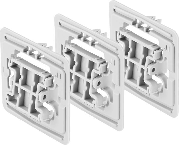 BOSCH 8750000416 Adapter 3er-Set Jung (J1), Weiß