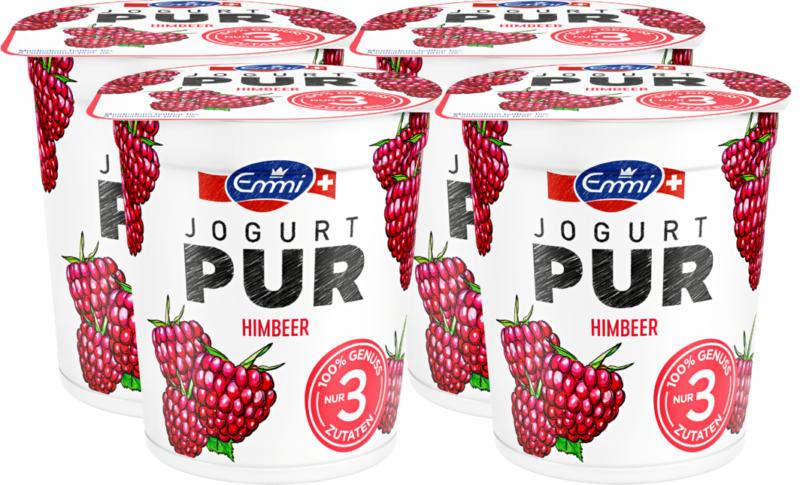 Yogourt pur Emmi, Framboise, 4 x 150 g
