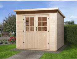 Weka Holz-Gartenhaus Taro A BxT: 235 cm x 240 cm