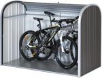 OBI Biohort Garten-Aufbewahrungsbox StoreMax 190 Dunkelgrau-Metallic