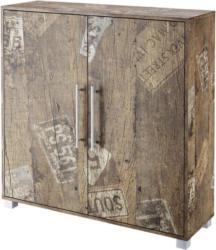 Schuhschrank Pisa B: 103,3 cm Eichefarben