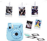 MediaMarkt FUJIFILM instax mini 11 Sky-Blue Bundle Sofortbildkamera, SKY-BLUE