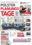 Nemann GmbH Polster Planungstage - bis 13.07.2021