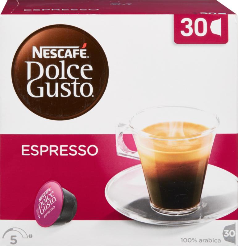 Nescafé Dolce Gusto Kaffeekapseln Espresso, 30 Kapseln