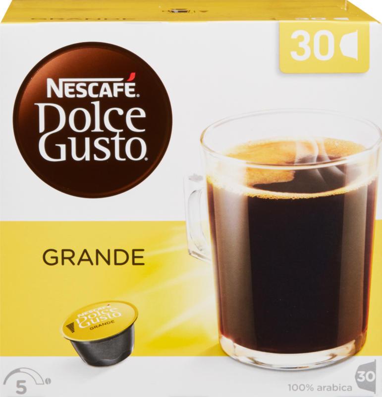 Capsule di caffè Grande Nescafé Dolce Gusto, 30 capsule