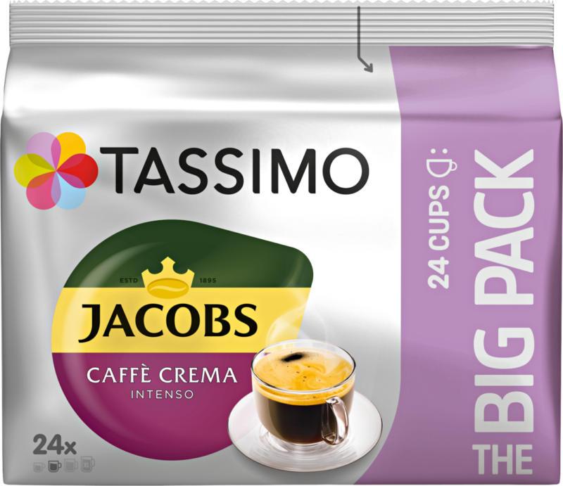 Tassimo Kaffeekapseln Jacobs Caffè Crema Intenso, 24 Portionen