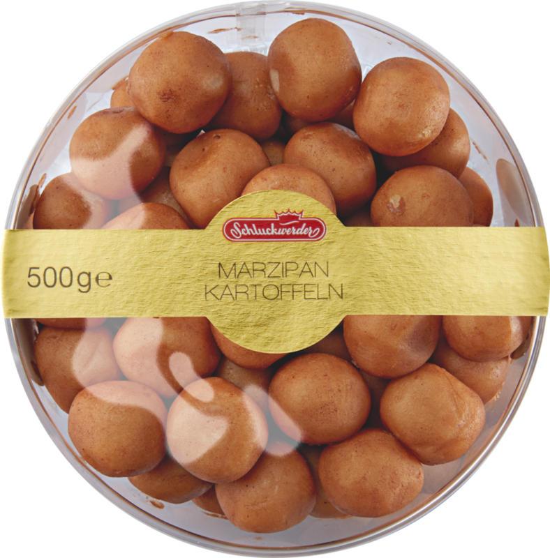 Schluckwerder Marzipankartoffeln, 500 g