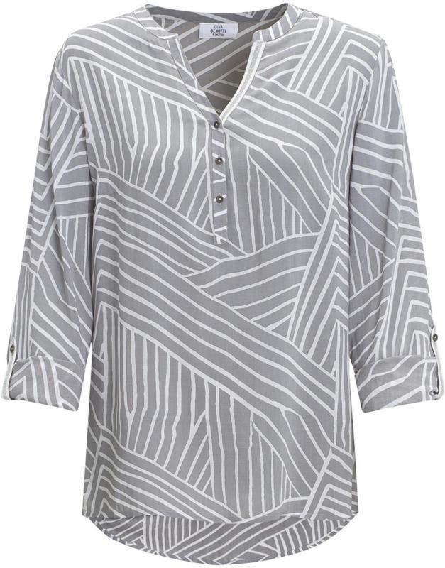 Damen Bluse mit krempelbaren Ärmeln (Nur online)