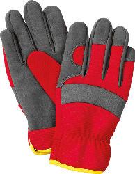 WOLF GH-U 8 Universal-Handschuhe, Rot/Grau/Gelb