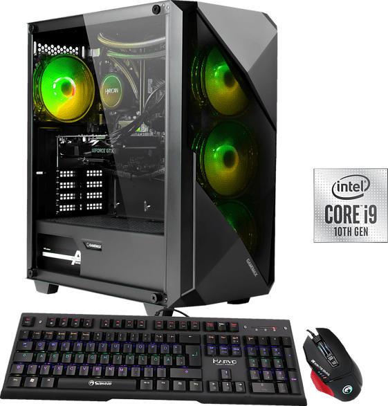 HYRICAN STRIKER 6607, Gaming-PC mit Core™ i9 Prozessor, 16 GB RAM, 960 GB SSD, GeForce RTX 3070 , 8 GB