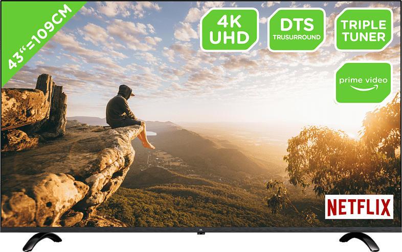 OK. ODL 43751 US-TIB LED TV (Flat, 43 Zoll/109 cm, UHD 4K, SMART TV)