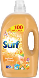 Detersivo liquido Sunfresh Orange Surf, 100 cicli di lavaggio, 5 litri