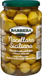 Olive verdi Nocellara Siciliana Barbera , 340 g