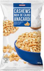 Denner Cashews, geröstet und gesalzen, 500 g